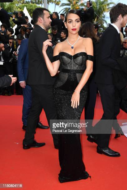Georgina Rodríguez attends the screening of Once Upon A Time In Hollywood during the 72nd annual Cannes Film Festival on May 21 2019 in Cannes France