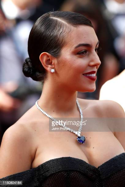 Georgina Rodriguez attends the screening of Once Upon A Time In Hollywood during the 72nd annual Cannes Film Festival on May 21 2019 in Cannes France