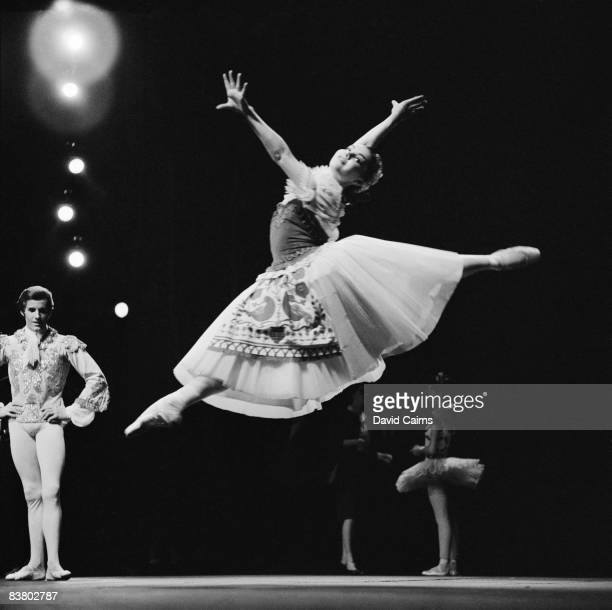 Georgina Sibley performs in 'Coppelia' at the Royal Opera House Covent Garden 8th July 1966