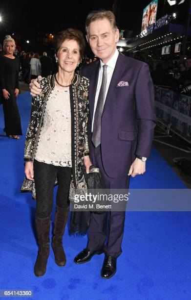 Georgina Simpson and Anthony Andrews attend the World Premiere of 'Another Mother's Son' on March 16 2017 in London England