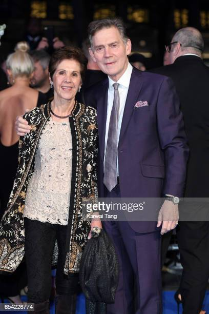 Georgina Simpson and Anthony Andrews attend the World Premiere of 'Another Mother's Son' at the Odeon Leicester Square on March 16 2017 in London...