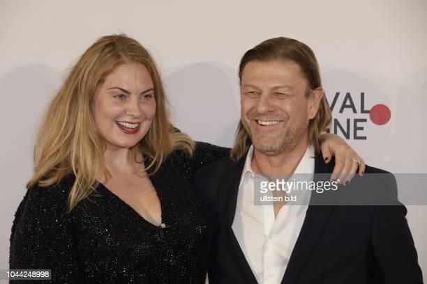 Georgina Sutcliffe und ihr ExMann Sean Bean bei der Verleihung der Film Festival Cologne Awards 2017 am 06 Oktober 2017 im IHK Börsensaal Unter...