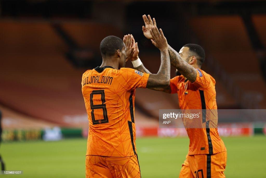 "UEFA Nations League qualifier""The Netherlands v Bosnia and Herzegovina"" : News Photo"