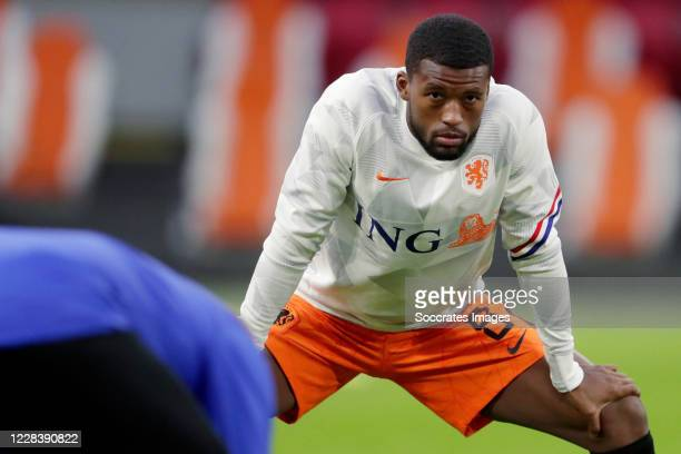 Georginio Wijnaldum of Holland during the UEFA Nations league match between Holland v Italy on September 7, 2020