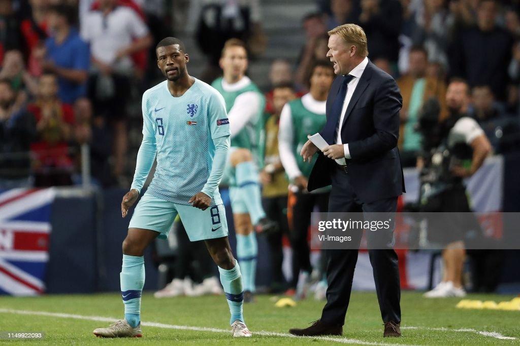 "UEFA Nations League""Portugal v the Netherlands"" : Nachrichtenfoto"