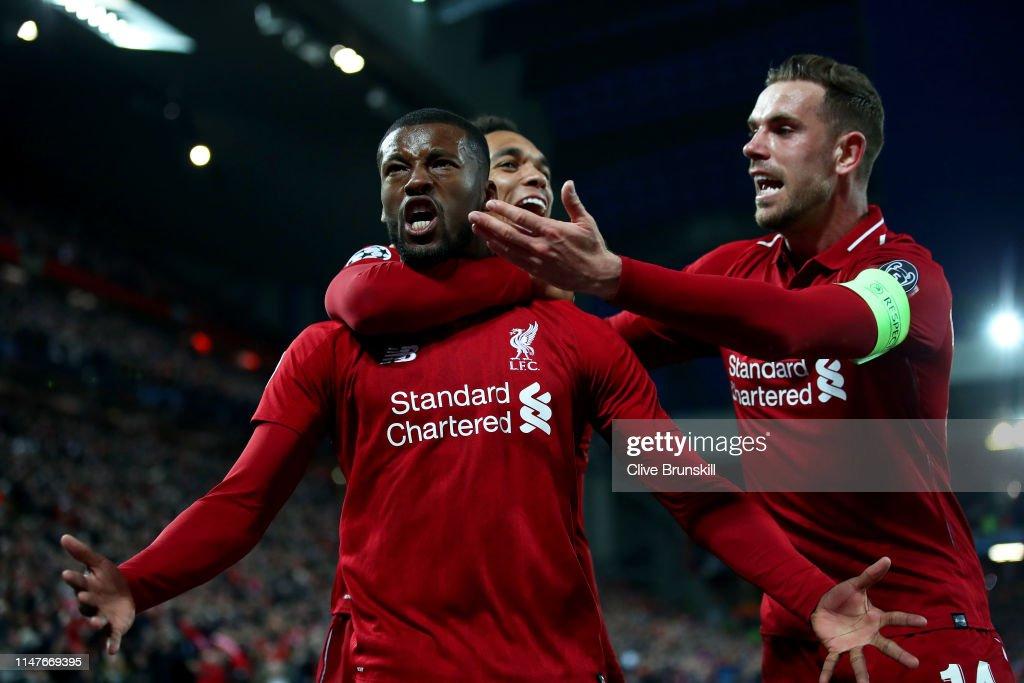 Liverpool v Barcelona - UEFA Champions League Semi Final: Second Leg : Fotografia de notícias