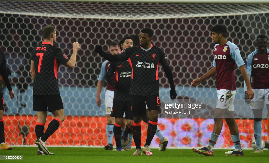 Aston Villa v Liverpool  - FA Cup Third Round : News Photo