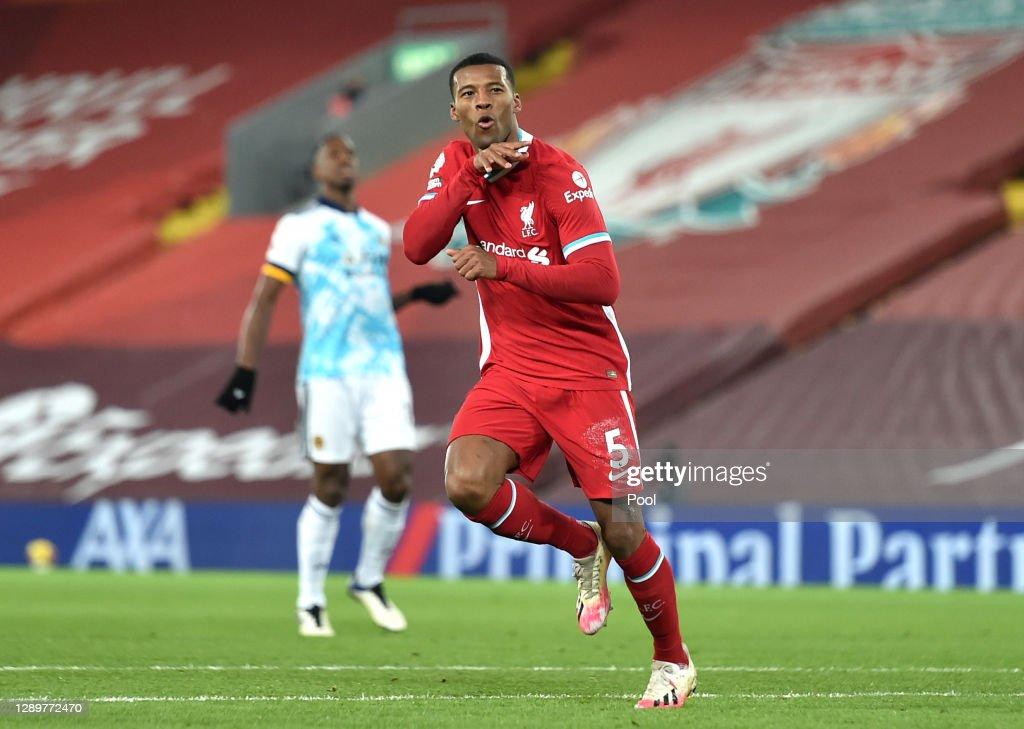 Liverpool v Wolverhampton Wanderers - Premier League : Nachrichtenfoto