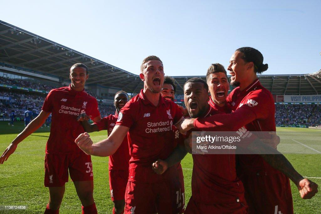 Cardiff City v Liverpool FC - Premier League : ニュース写真