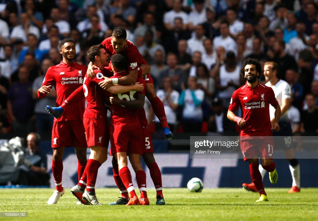 Tottenham Hotspur v Liverpool FC - Premier League : News Photo