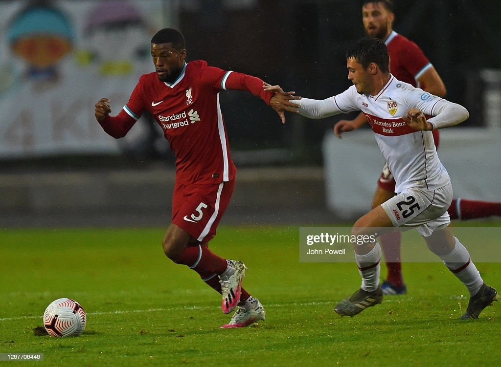 Georginio Wijnaldum Of Liverpool During The Pre Season Friendly Match News Photo Getty Images