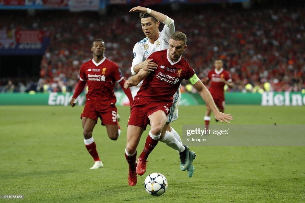 "UEFA Champions League""Real Madrid v Liverpool FC"" : News Photo"
