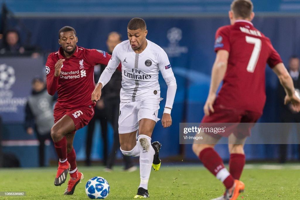 "UEFA Champions League""Paris St Germain v Liverpool FC"" : News Photo"