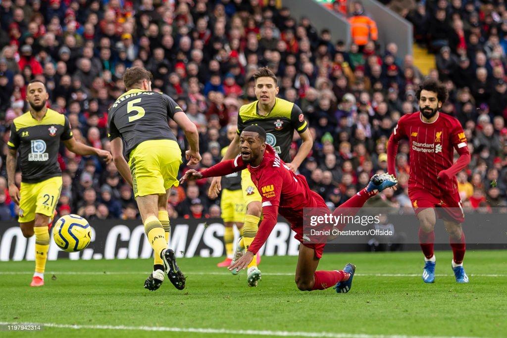 Liverpool FC v Southampton FC - Premier League : ニュース写真