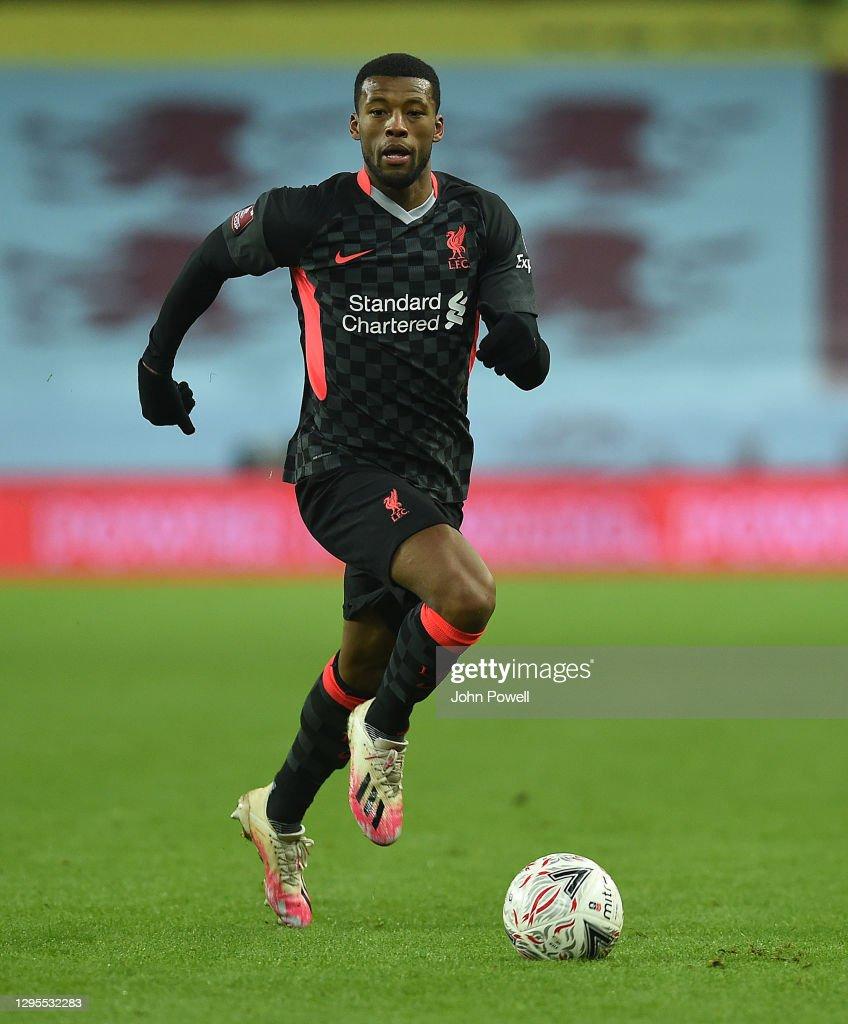 Aston Villa v Liverpool  - FA Cup Third Round : News Photo
