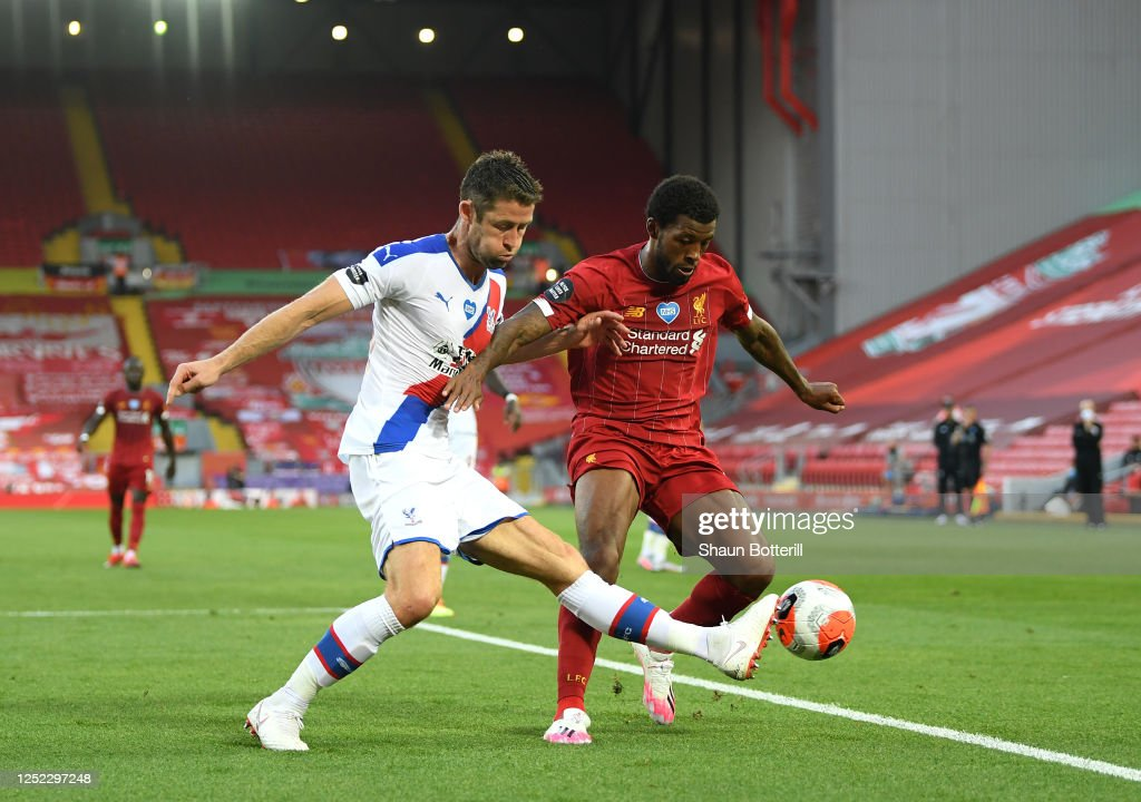 Liverpool FC v Crystal Palace - Premier League : Nachrichtenfoto