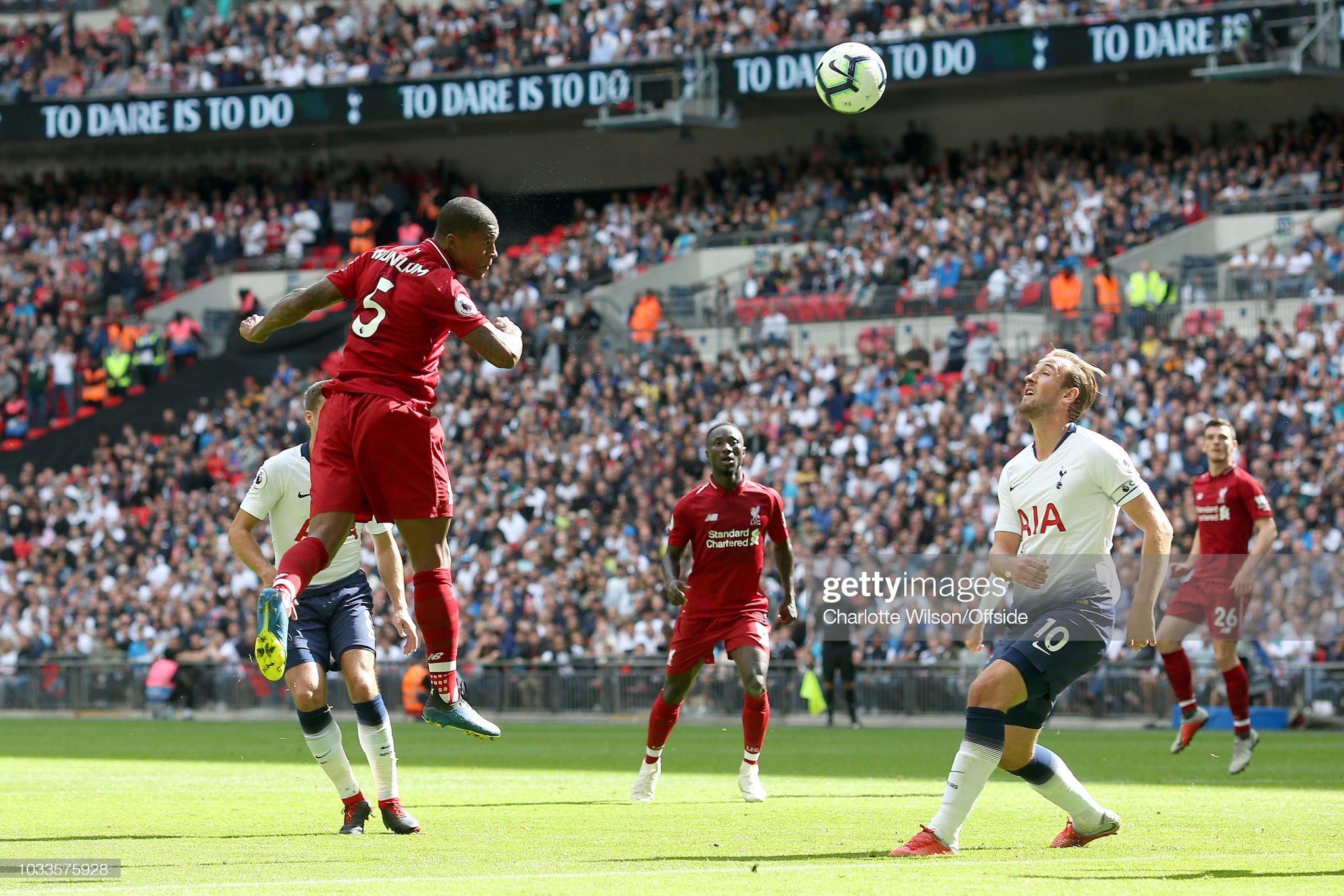 Tottenham Hotspur v Liverpool FC - Premier League : News Photo