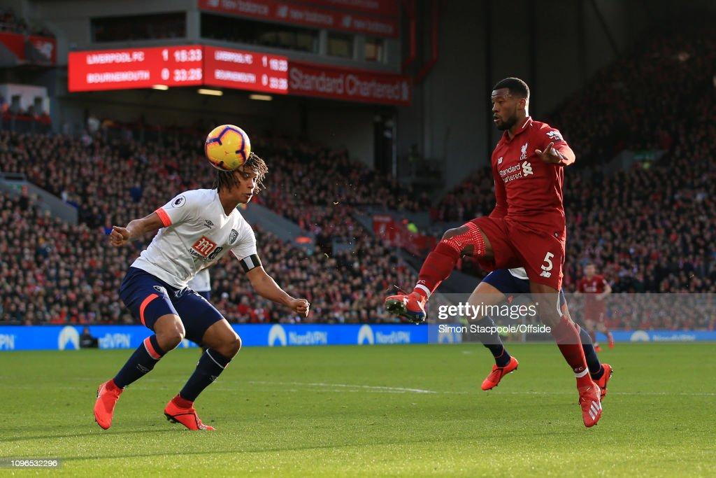 Liverpool v AFC Bournemouth - Premier League : News Photo