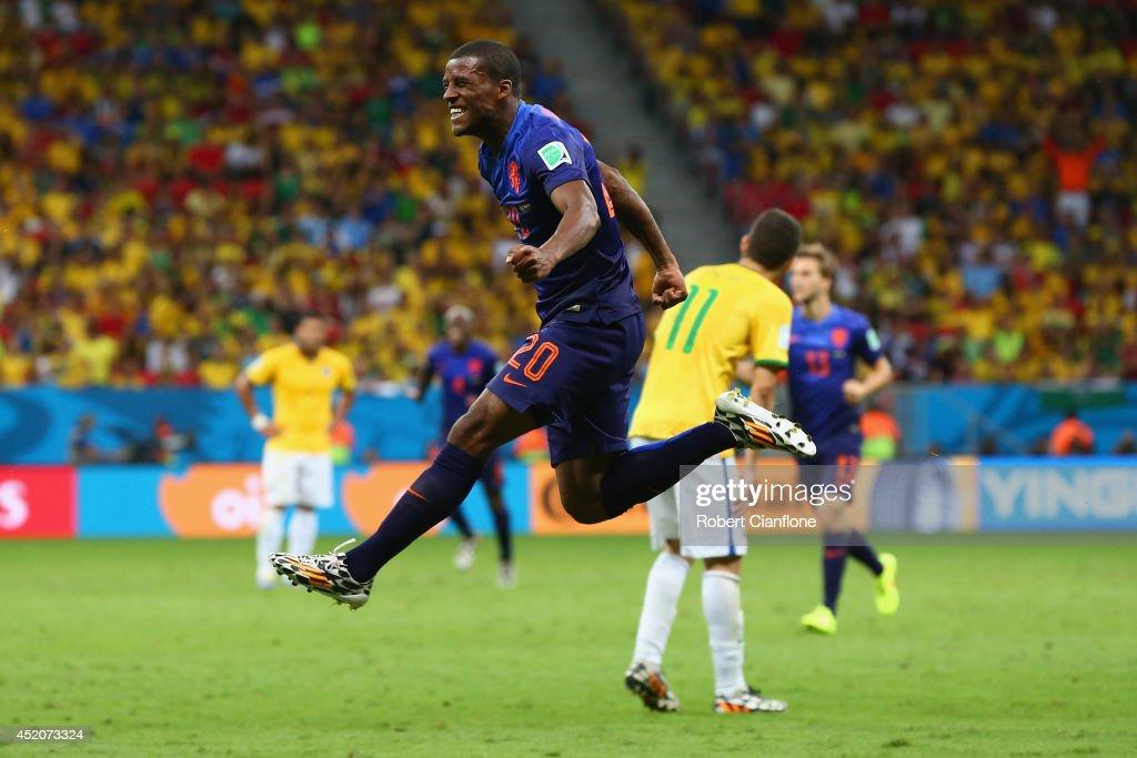Brazil v Netherlands: 3rd Place Playoff - 2014 FIFA World Cup Brazil : News Photo