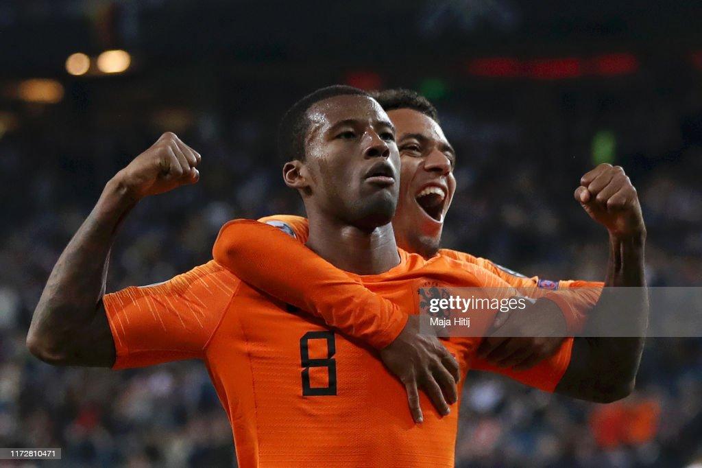 Germany v Netherlands - UEFA Euro 2020 Qualifier : News Photo
