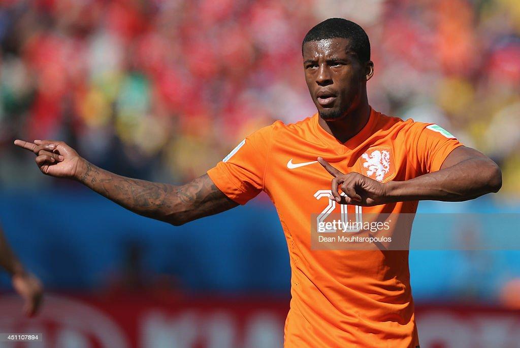 Netherlands v Chile: Group B - 2014 FIFA World Cup Brazil : News Photo