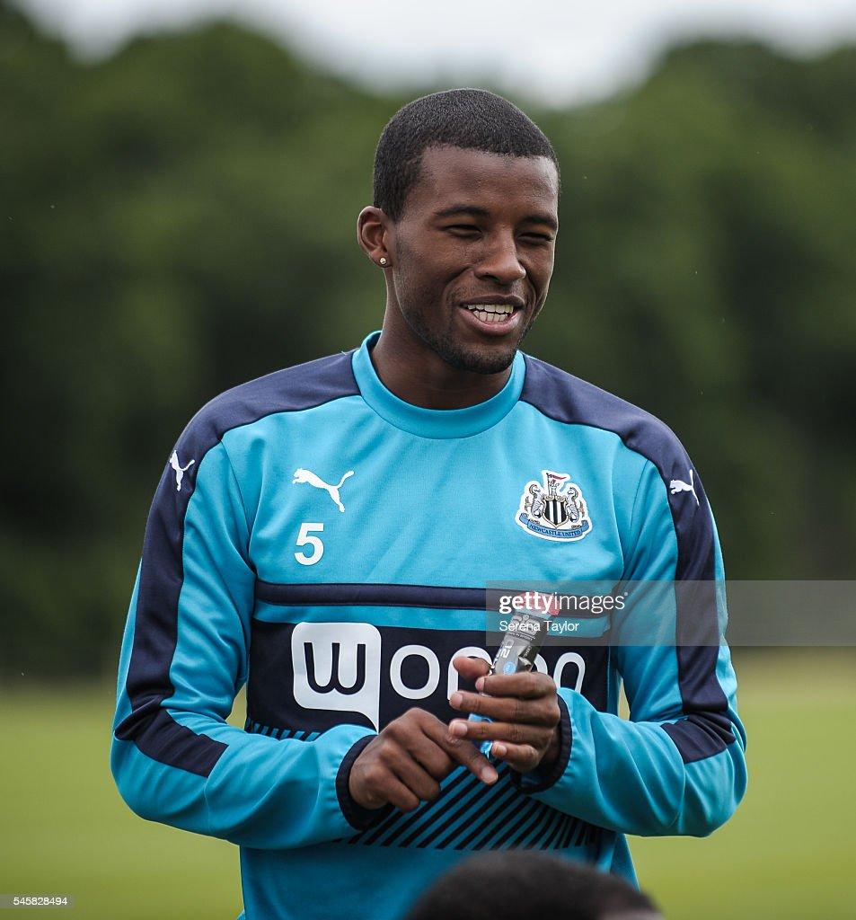 Newcastle United Pre-Season Training Camp : News Photo