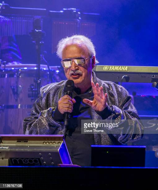 Georgio Moroder performs his first night of UK tour at Symphony Hall on April 01 2019 in Birmingham England