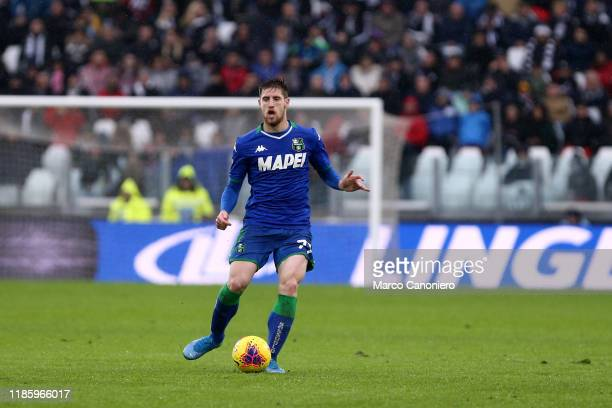 Georgios Kyriakopoulos of Us Sassuolo Calcio in action during the the Serie A match between Juventus Fc and Us Sassuolo Calcio The match end in a tie...