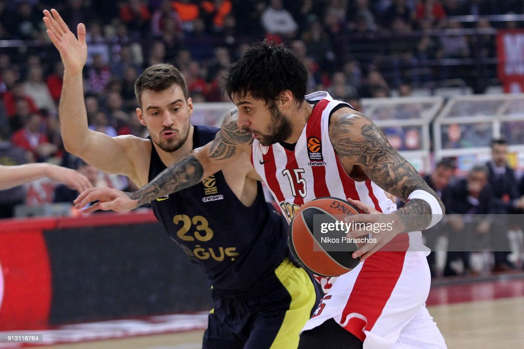 Olympiacos Piraeus v Fenerbahce Dogus istanbul - Turkish Airlines EuroLeague