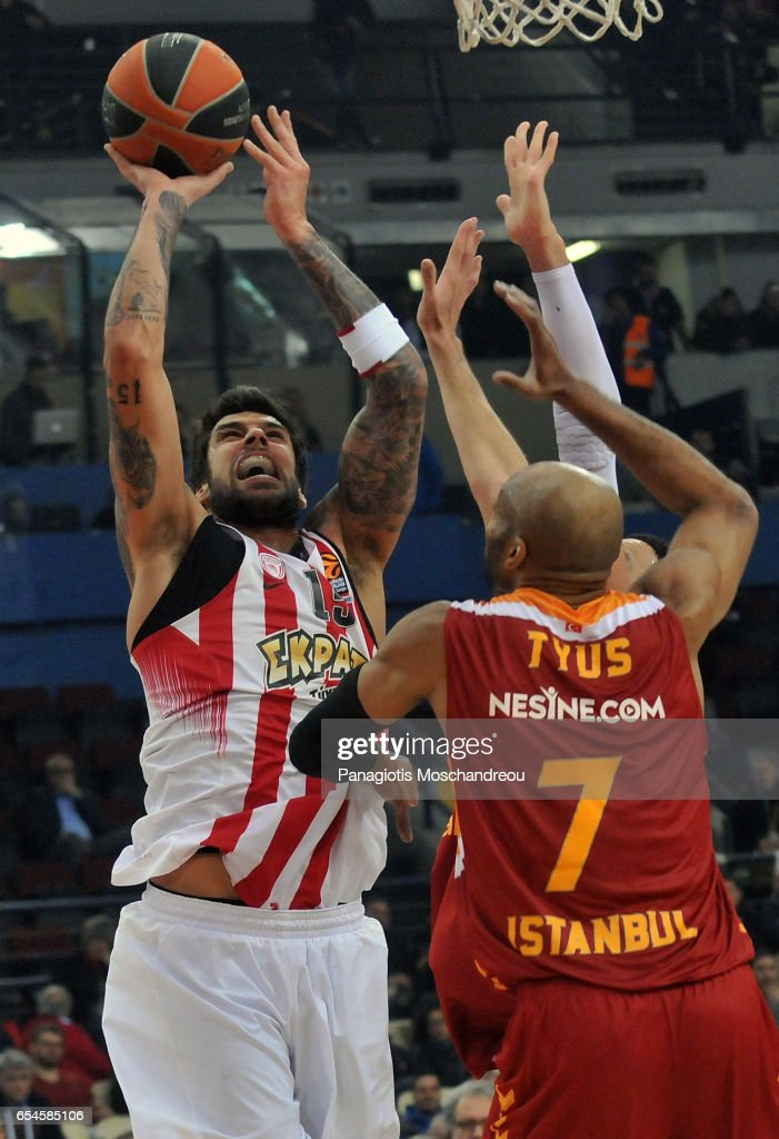 Olympiacos Piraeus v Galatasaray Odeabank Istanbul - Turkish Airlines Euroleague