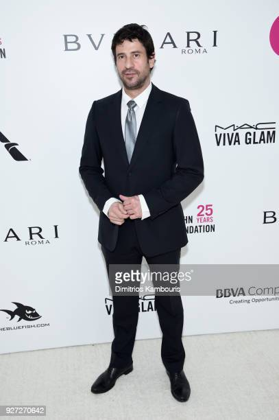 Georgoulis Alexis attends the 26th annual Elton John AIDS Foundation Academy Awards Viewing Party sponsored by Bulgari celebrating EJAF and the 90th...