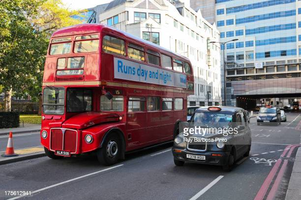 Geotagged photo taken at Little College Lane, London, London Borough of Islington, England, UK, showing the classic old red bus of London and the...
