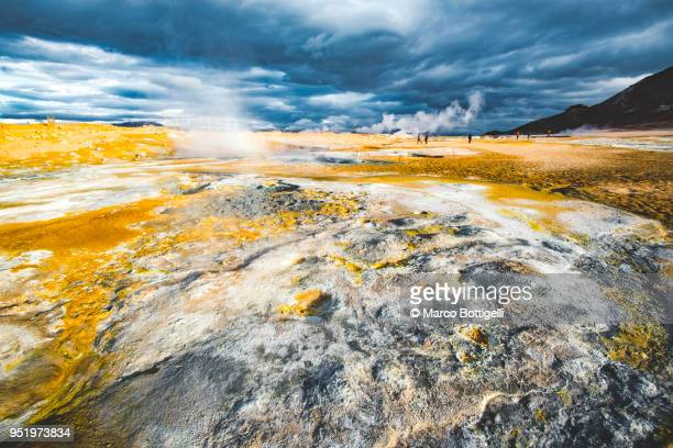 Geothermal activity in northern Iceland
