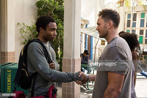 COMMUNITY Geothermal Escapism Episode 504 Pictured Donald Glover as Troy Joel McHale as Jeff