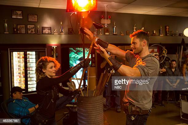 COMMUNITY Geothermal Escapism Episode 504 Pictured Gilian Jacobs as Britta Joel McHale as Jeff