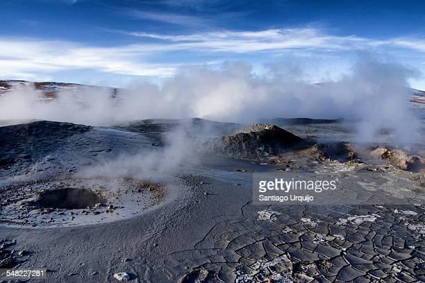 Geothermal field of Sol de Mañana