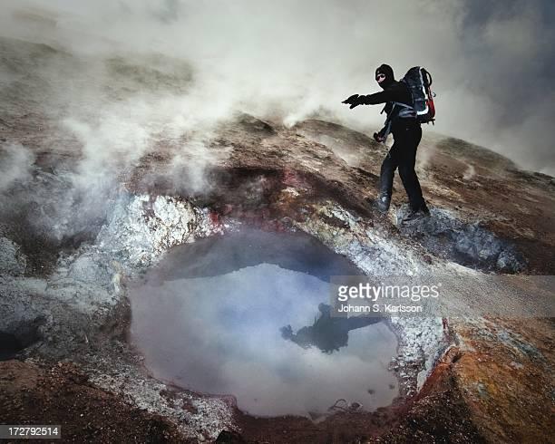 Geothermal hiker