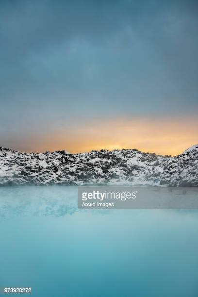 geothermal hot springs, blue lagoon, iceland - hot spring stock pictures, royalty-free photos & images