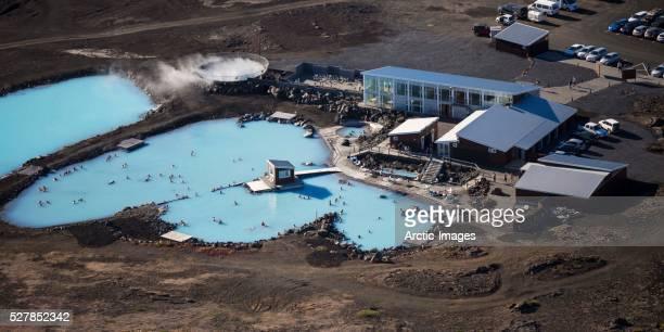 Geothermal hot springs- Myvatn Nature Baths, Northern Iceland