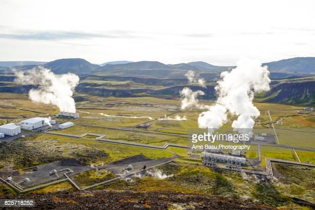 Geothermal plant, Thingvellir National Park, Iceland