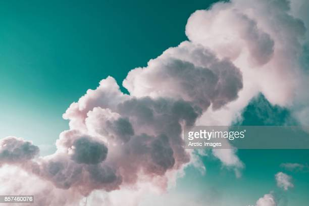 Geothermal Steam and Landscape