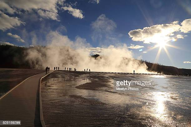 Geothermal Wonders in Yellowstone National Park