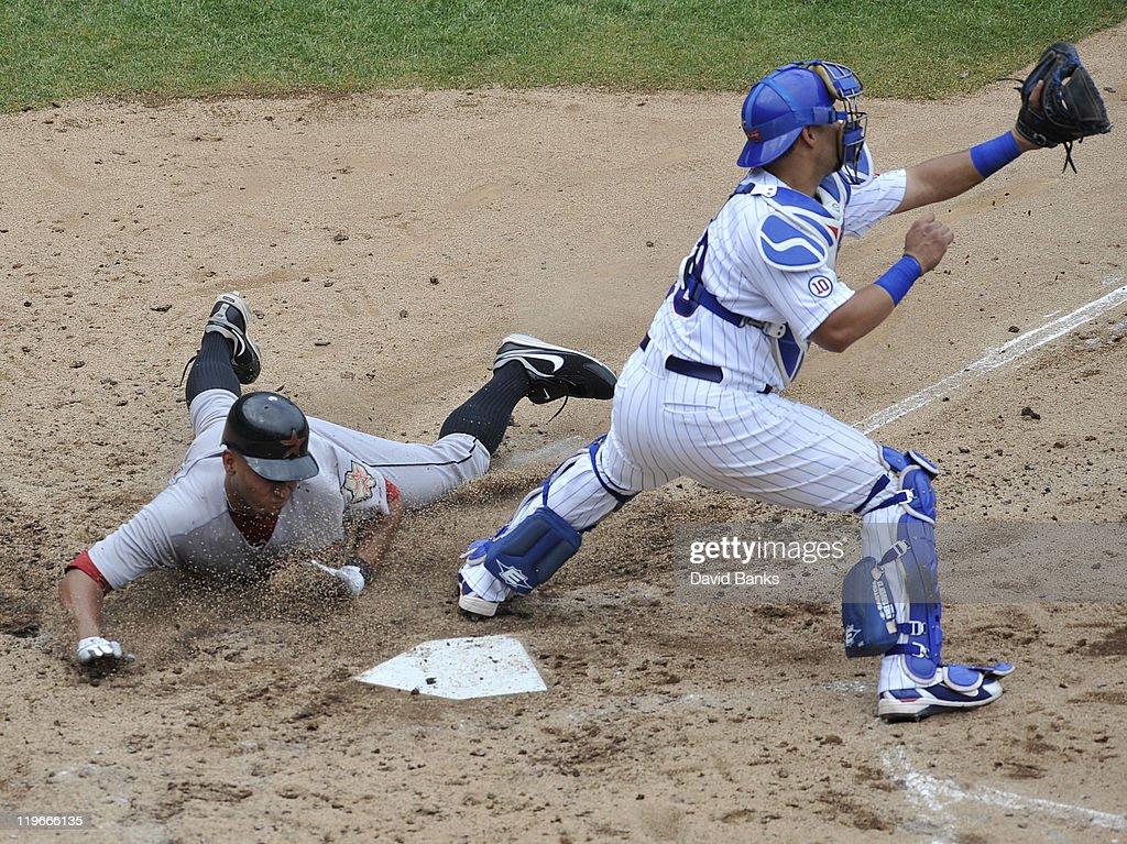 Houston Astros v Chicago Cubs