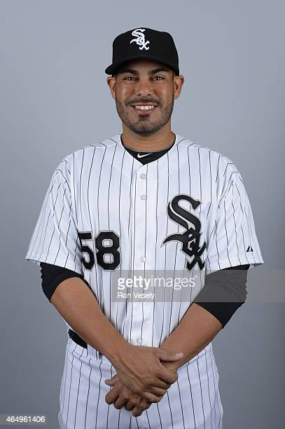 Geovany Soto of the Chicago White Sox poses during Photo Day on Saturday February 28 2015 at Camelback Ranch in Glendale Arizona