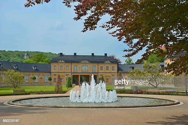 Gera, Orangerie, die halbkreisfoermige barocke Anlage beherbergt heute die Kunstsammlung Gera mit Malerei und Plastik vom 16. Jh. Bis zur Gegenwart...