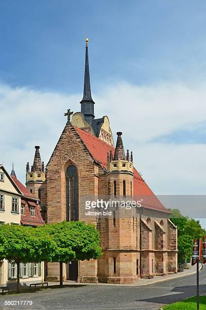 Gera Pfarrkirche St Marien ein einschiffiger spaetgotischer Bau