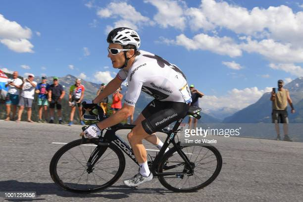 Geraint Thomas of Great Britain and Team Sky / during the 105th Tour de France 2018, Stage 11 a 108,5km stage from Albertville to La Rosiere - Espace...