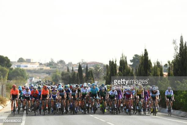 Geraint Thomas of Great Britain and Team Sky /Julien Duval of France and Team Ag2R La Mondiale / Omar Fraile of Spain and Astana Pro Team / Sonny...