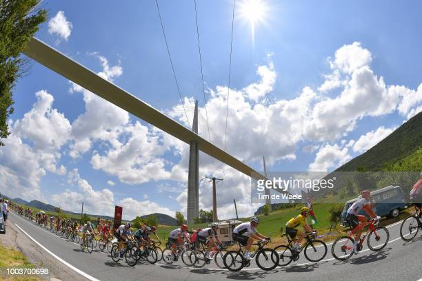 Mathew Hayman of Australia and Team MitcheltonScott / during the 105th Tour de France 2018 Stage 15 a 1815km stage from Millau to Carcassonne / TDF /...