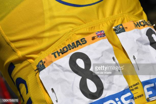 Geraint Thomas of Great Britain and Team Sky Yellow Leaders Jersey / during the 105th Tour de France 2018, Stage 16 a 218km stage from Carcassonne to...
